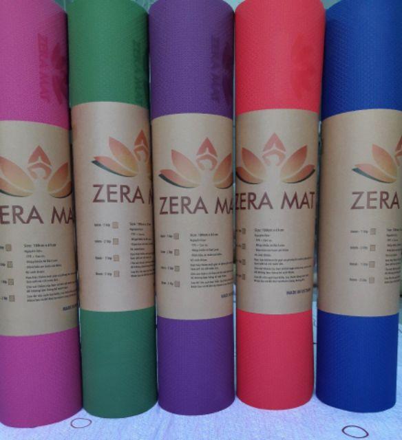 Thảm yoga zera mat 1 lớp