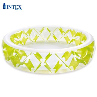 Bể bơi tròn họa tiết xanh lá 2m29 INTEX 57182