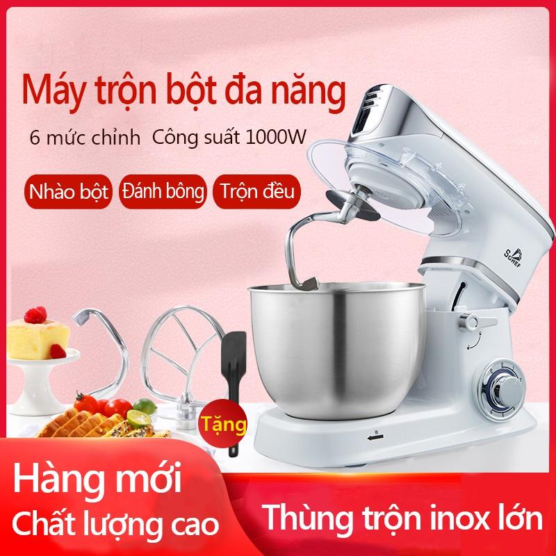 Máy nhào bột máy trộn bột máy đánh trứng 4 lít/ 5 lít /6.5 lít máy trộn salad 3 trong 1 toàn tự động YA18/YA19
