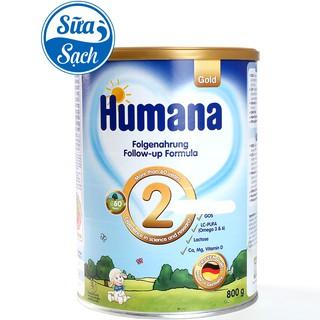 Sữa Humana Gold 2 800gr Date 11 2021