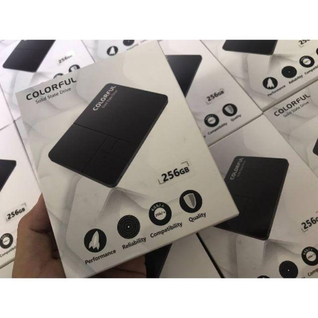 Ổ cứng SSD 256gb Colorful chính hãng Giá chỉ 700.000₫