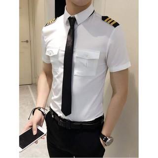 Áo sơ mi nam cơ trưởng bay