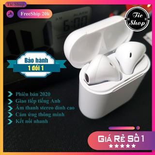 Tai Nghe Bluetooth không dây i12 - TWS, Cảm ứng - Free ship 20k thumbnail