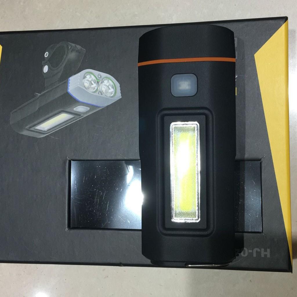 Đèn Đa Năng HJ048 | Đèn Gắn Xe Đạp Trang Bị COB LED Siêu Sáng Kết Hợp Sạc  Dự Phòng Điện Thoại giảm chỉ còn 400,000 đ