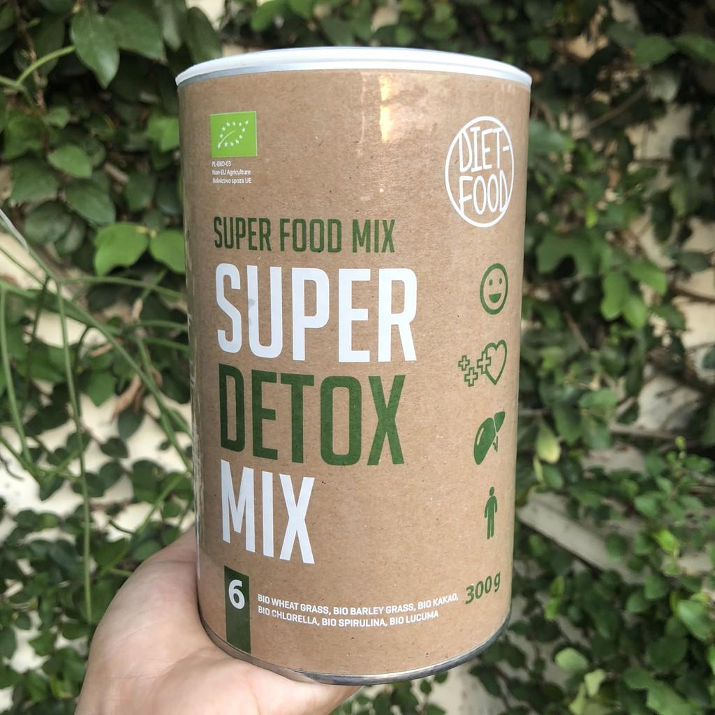 [DIET FOOD] BỘT THẢI ĐỘC CƠ THỂ SUPER DETOX MIX (300g) – Organic Super Detox Mix Powder