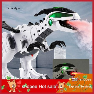 ❤❤❤Electric Spitfire LED Light Sound Simulation Dinosaur Model Boys Kids Toy Gift