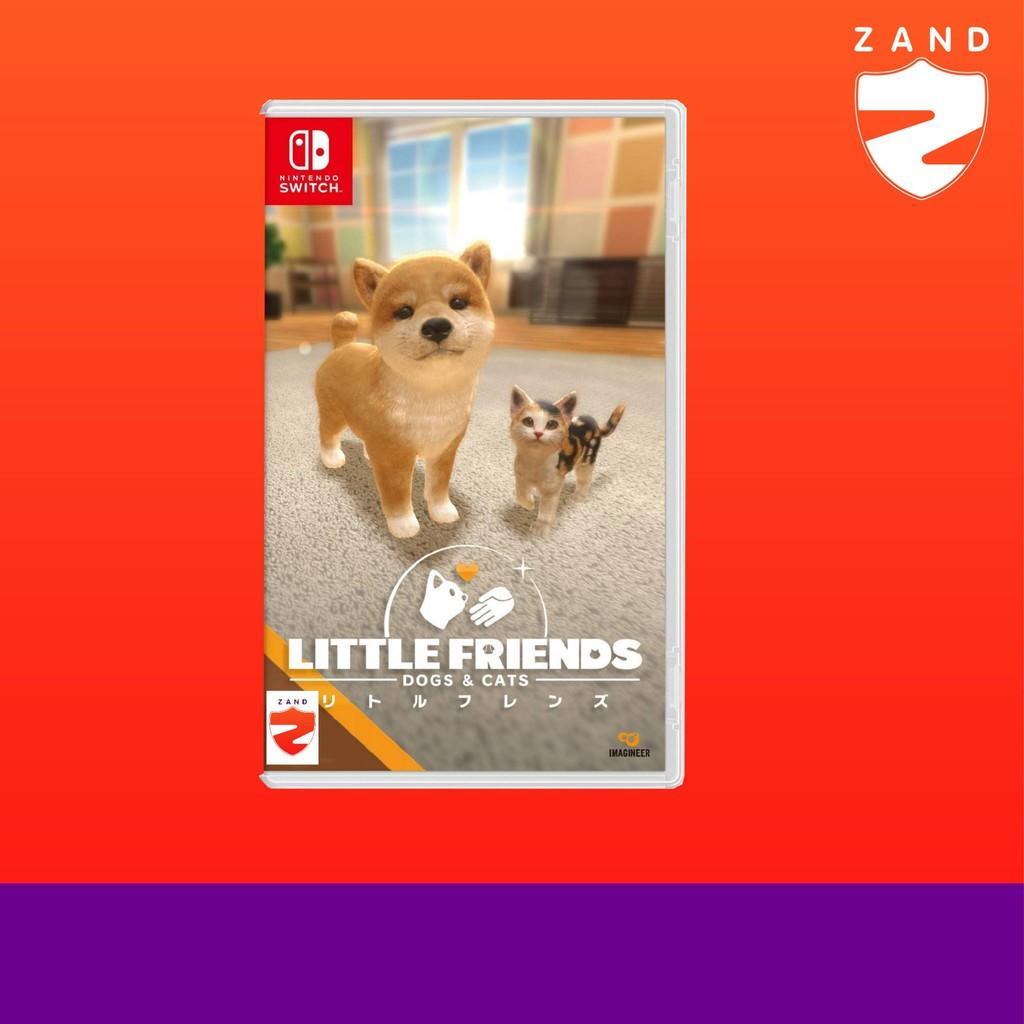 ĐĨA GAME : SWITCH-G: LITTLE FRIENDS: DOGS & CATS (R3)(EN)