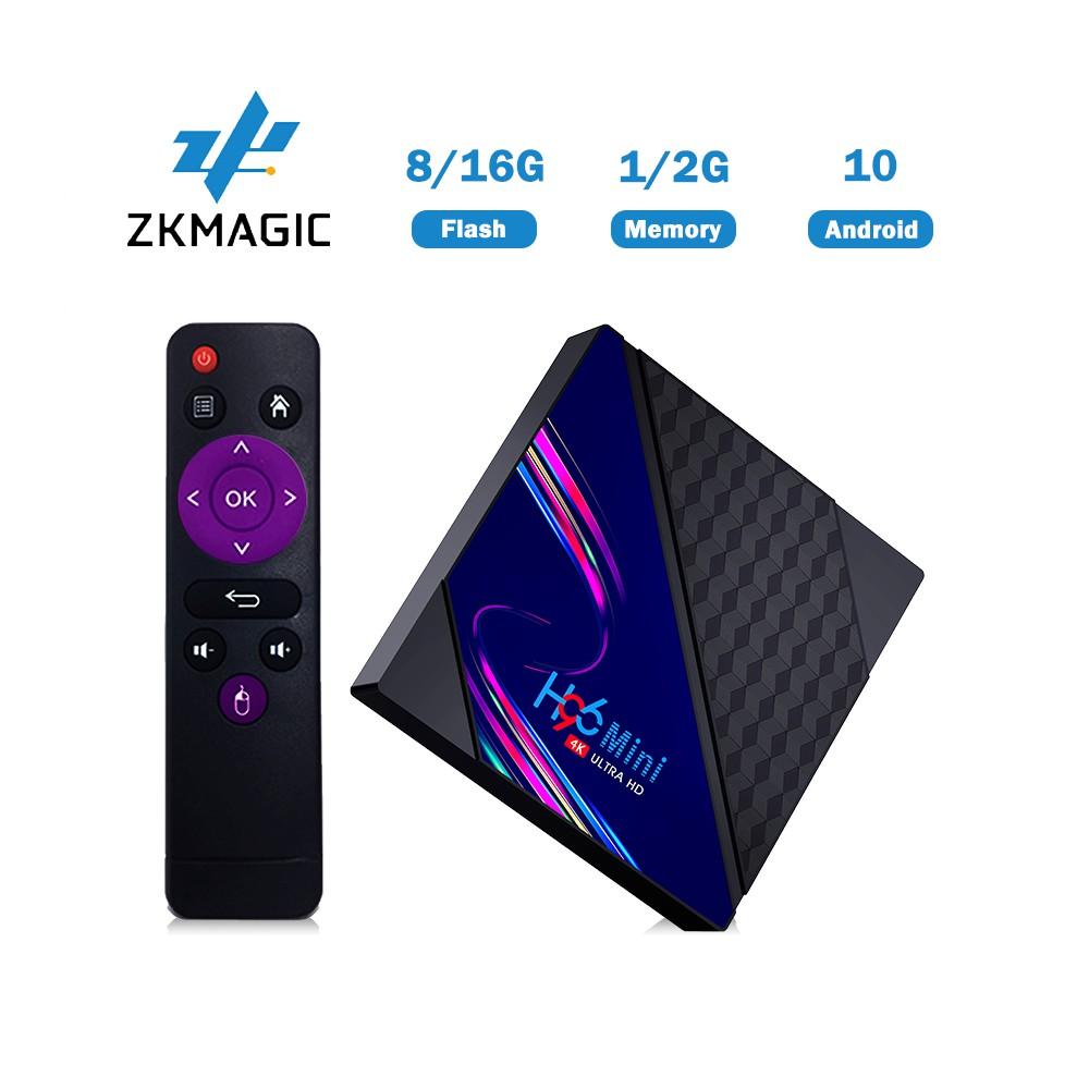 TV Box Zkmagic H96 MINI V8 RK3228A Android 10.0 Lõi Tứ 2GB 16GB 2.4Ghz Wifi Hỗ Trợ Giải Trí Thông Dụng