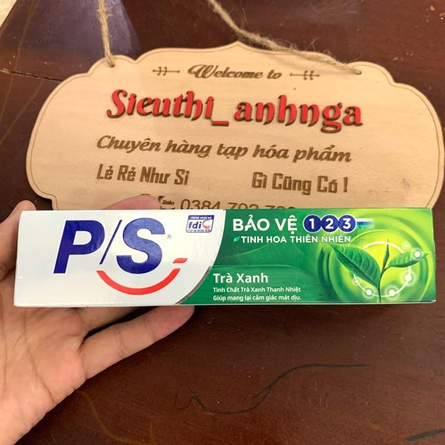 Kem Đánh Răng P/S Trà Xanh/Ngừa Sâu Răng Tuýp 100g