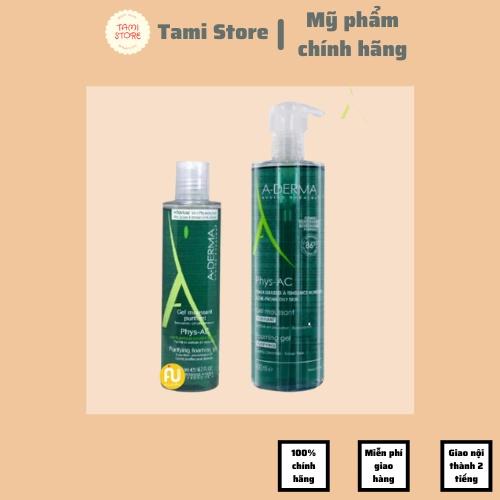 Sữa rửa mặt Aderma Tami Store CHÍNH HÃNG PHÁP - Aderma sữa rửa mặt dành cho da dầu, da mụn, da nhạy cảm