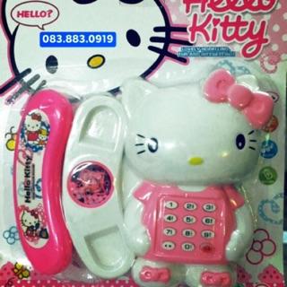 (Mẫu mới) Điện Thoại Hello Kitty cho bé