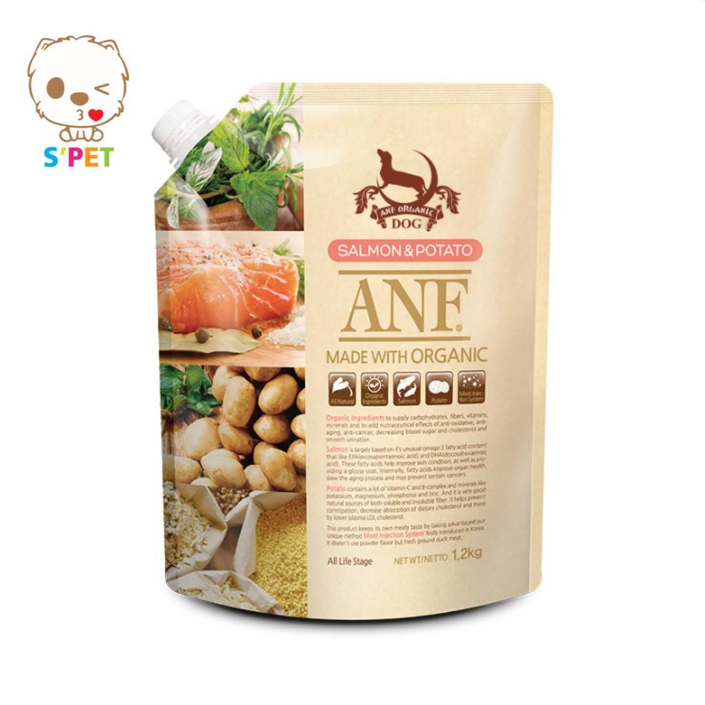 ANF - Thức ăn hạt hữu cơ vị cá hồi khoai tây 1.2kg
