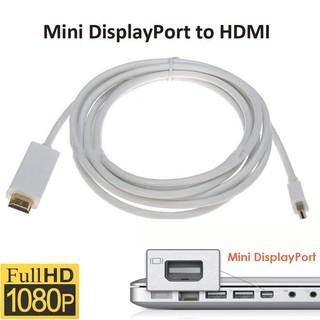 [Mã ELFLASH5 giảm 20K đơn 50K] Cáp chuyển đổi Mini Displayport sang HDMI 1080p dài 1,8m