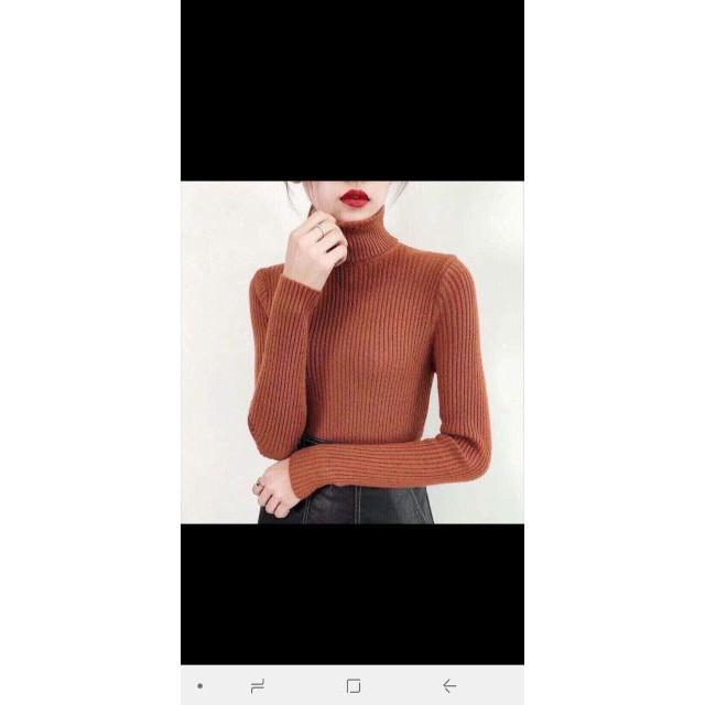 Áo len tơ cổ 10 phân chất đẹp