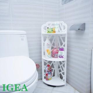 Kệ góc nhà tắm 3 tầng hiện đại chống ẩm tuyệt đối IG147/ IG121