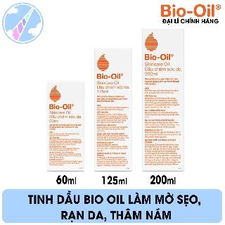 Tinh Dầu Bio Oil Làm Mờ Sẹo, Rạn Da, Thâm Nám thumbnail