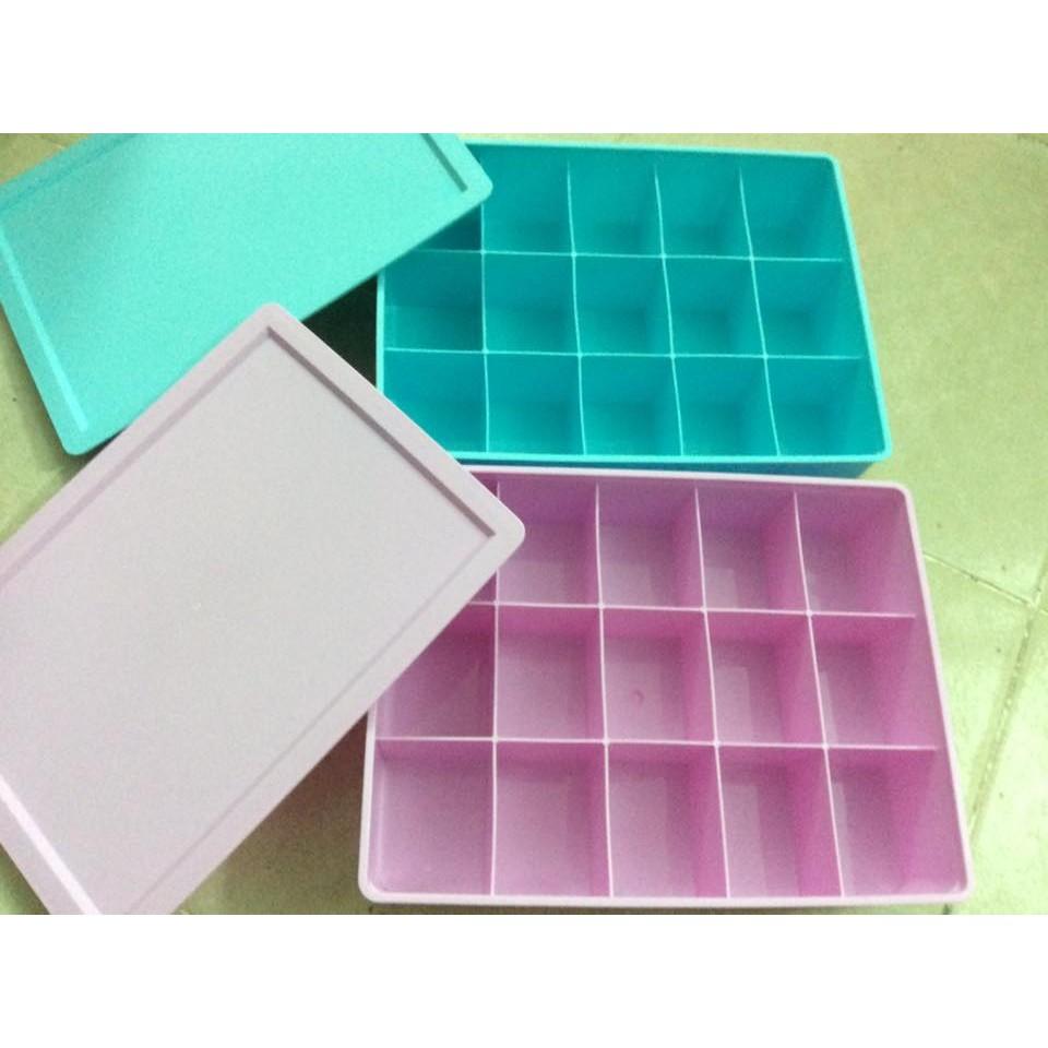 Hộp đồ lót chia ô có nắp đậy bằng nhựa chắc chắn - 2544098 , 51913407 , 322_51913407 , 75000 , Hop-do-lot-chia-o-co-nap-day-bang-nhua-chac-chan-322_51913407 , shopee.vn , Hộp đồ lót chia ô có nắp đậy bằng nhựa chắc chắn