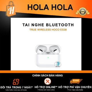 Tai nghe Bluetooth cảm ứng 2 bên TWS V5.0 có Mic Hoco ES38 (hộp sạc không dây)