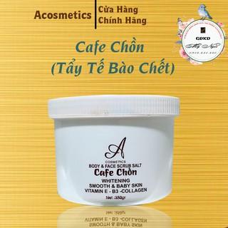 Cafe Chồn ACOSMETICS, tẩy tế bào chết cho da, làm sạch da, giúp da hấp thụ kem tốt hơn(Chính Hãng)