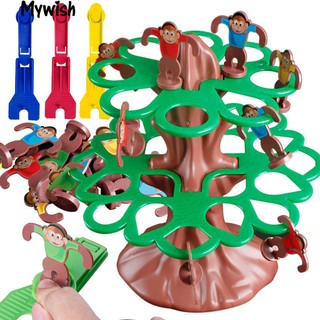 Happy Jumping Monkey Hanging Tree Educational Games Learning Children Toy