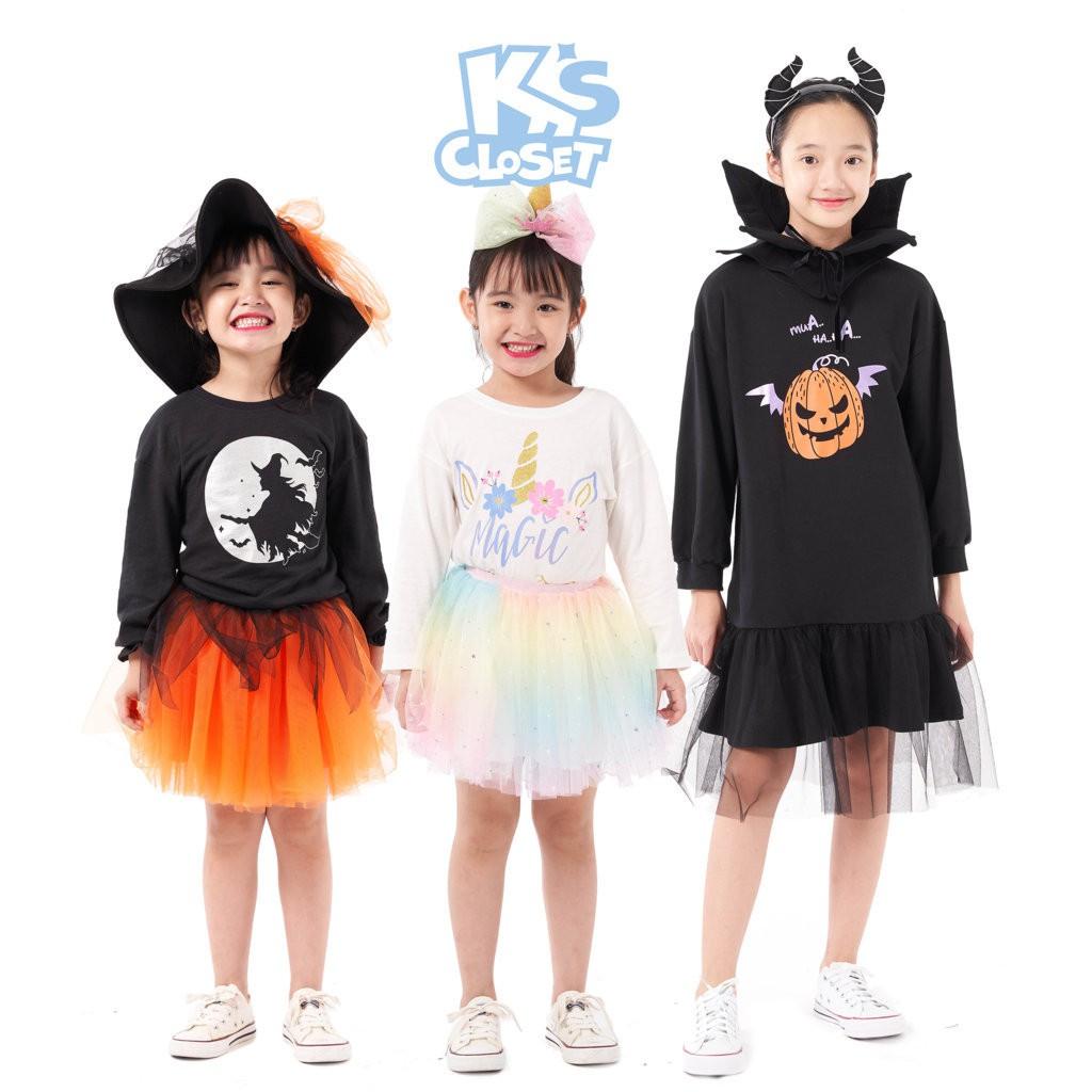Bộ Trang Phục Halloween Cho Bé Gái (2-10 Tuổi) K's Closet K154TEF / K196TEF / K258TEF HT