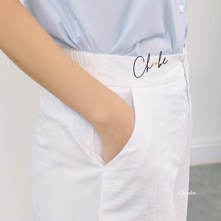 Quần đũi nữ ống rộng Choobe, dáng lửng, cạp chun sau, form rộng, nhiều màu sắc - Q23