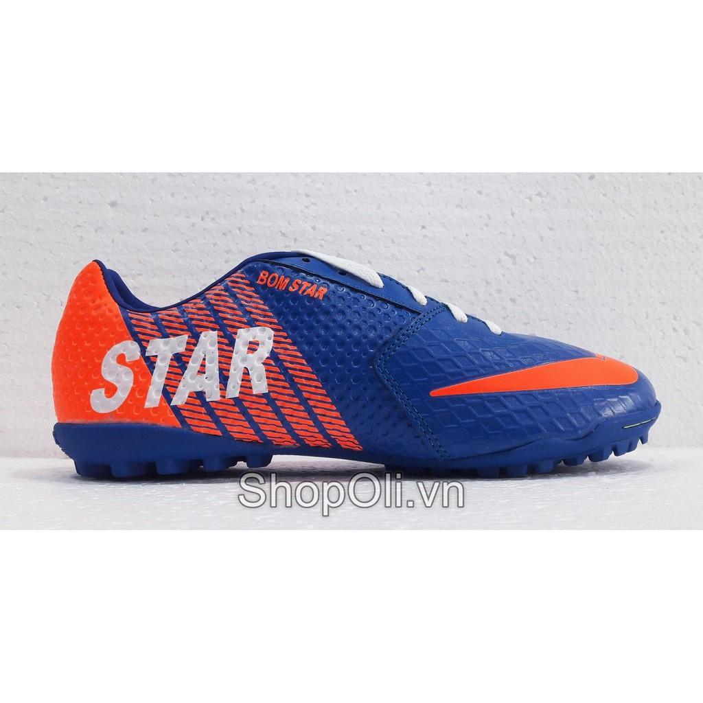 Giày đá bóng sân cỏ nhân tạo Star xanh