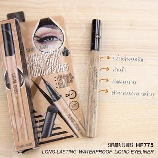 Eyeliner Sivanna, kẻ mắt nước đầu bút lông dễ vẽ, chống nước, không lem không trôi HF775 thumbnail