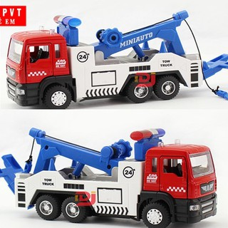 Xe cứu hộ cảnh sát tỉ lệ 1:50 mô hình đồ chơi trẻ em