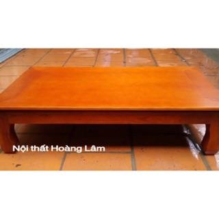 Bàn ăn, bàn trà gỗ xoan chất lượng cao ( SHIP HOẢ TỐC 1 GIỜ)