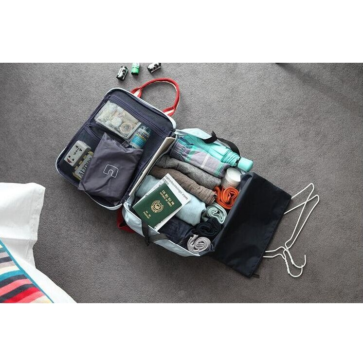 TẶNG NƯỚC HOA MINI CN - Túi Du Lịch Đa Năng Multi - Bag Tiện Ích Ver 2.0 Qstore KDR-TX056 Kodoros