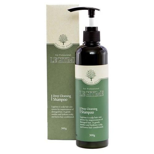 Dầu gội thảo dược chống rụng tóc, trị gầu và dầu LEGITIME -Cho tóc dầu - Welcos 300gr