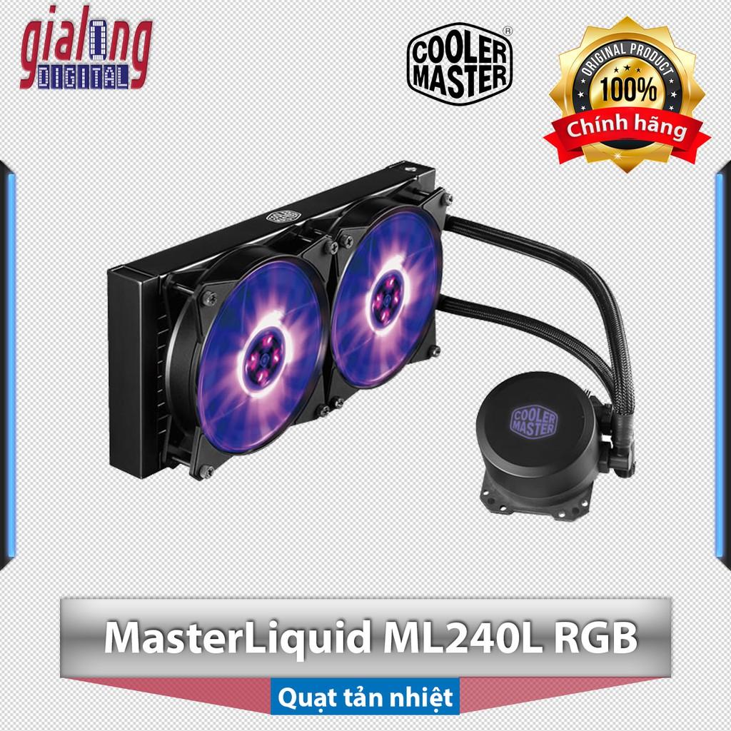 Quạt tản nhiệt nước Cooler Master MasterLiQuid ML240L-RGB - Hàng chính hãng phân phối
