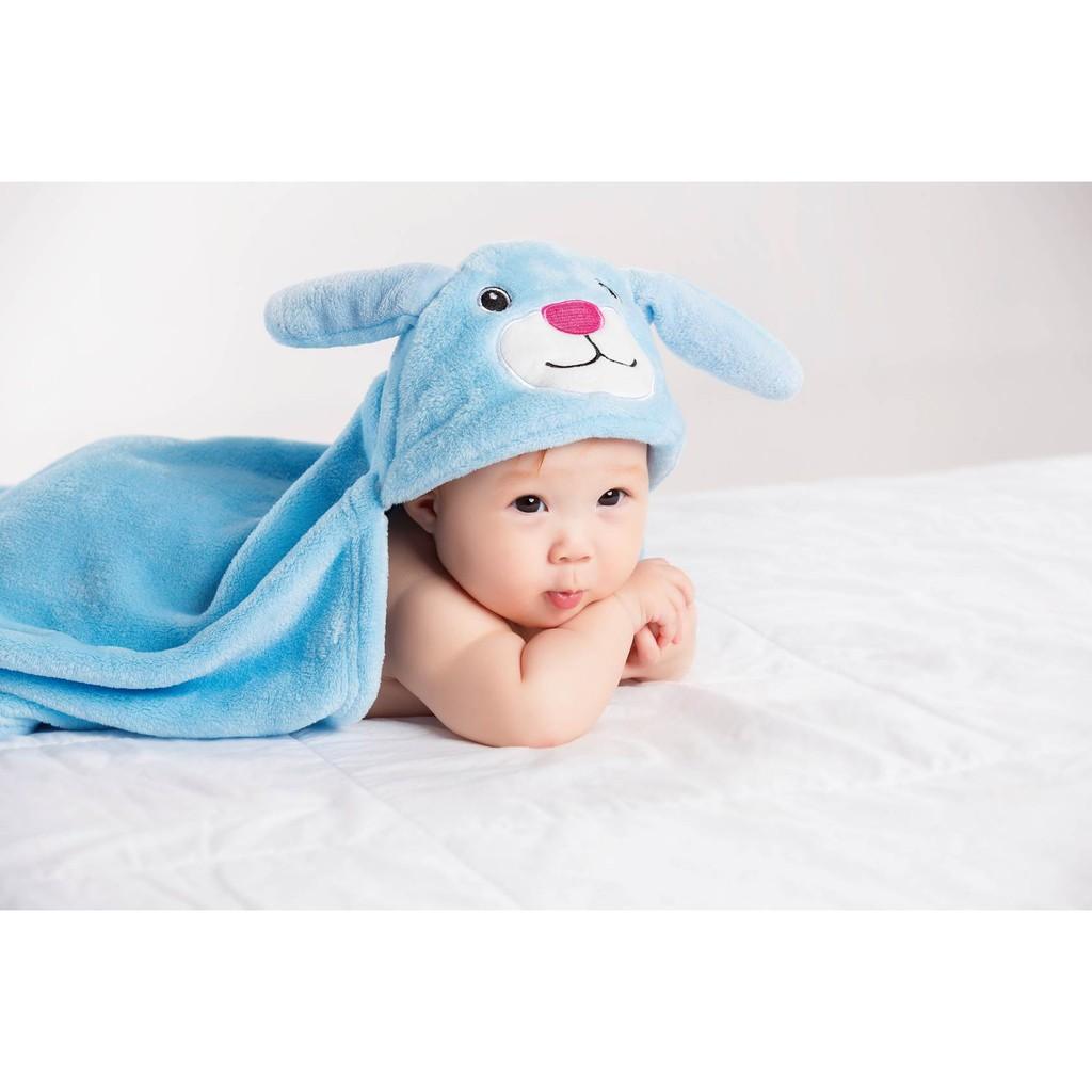 Combo 2 Kem chống hăm Bepanthen Balm dạng kem mỡ 100g/tuýp - Tặng 1 khăn choàng tắm cho bé