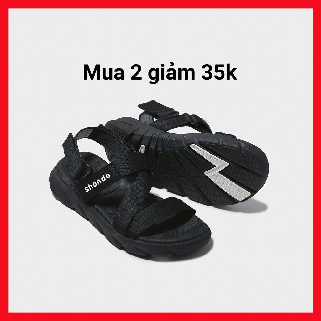 SHAT | Giày Sandal Màu Đen Shat Shondo F6S301