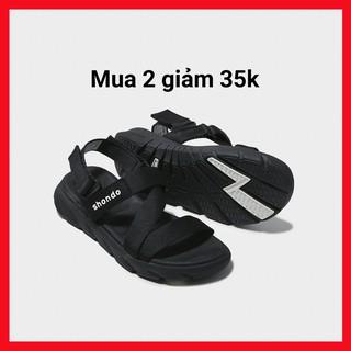 SHAT   Giày Sandal Màu Đen Shat Shondo F6S301 CC >