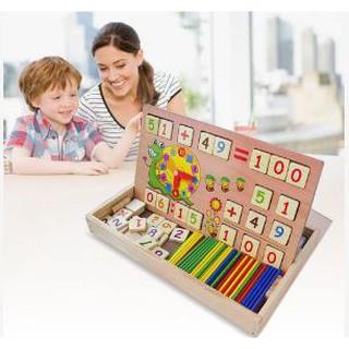 [shopcongnghe24]Combo 5 bảng gỗ toán học thông minh cho bé