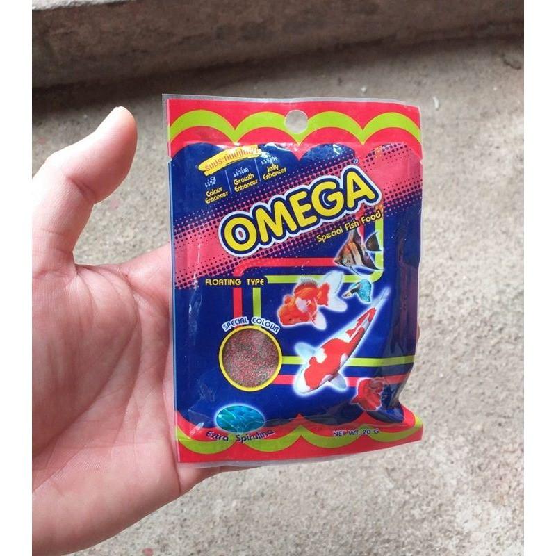 Thức ăn cho cá cảnh Omega