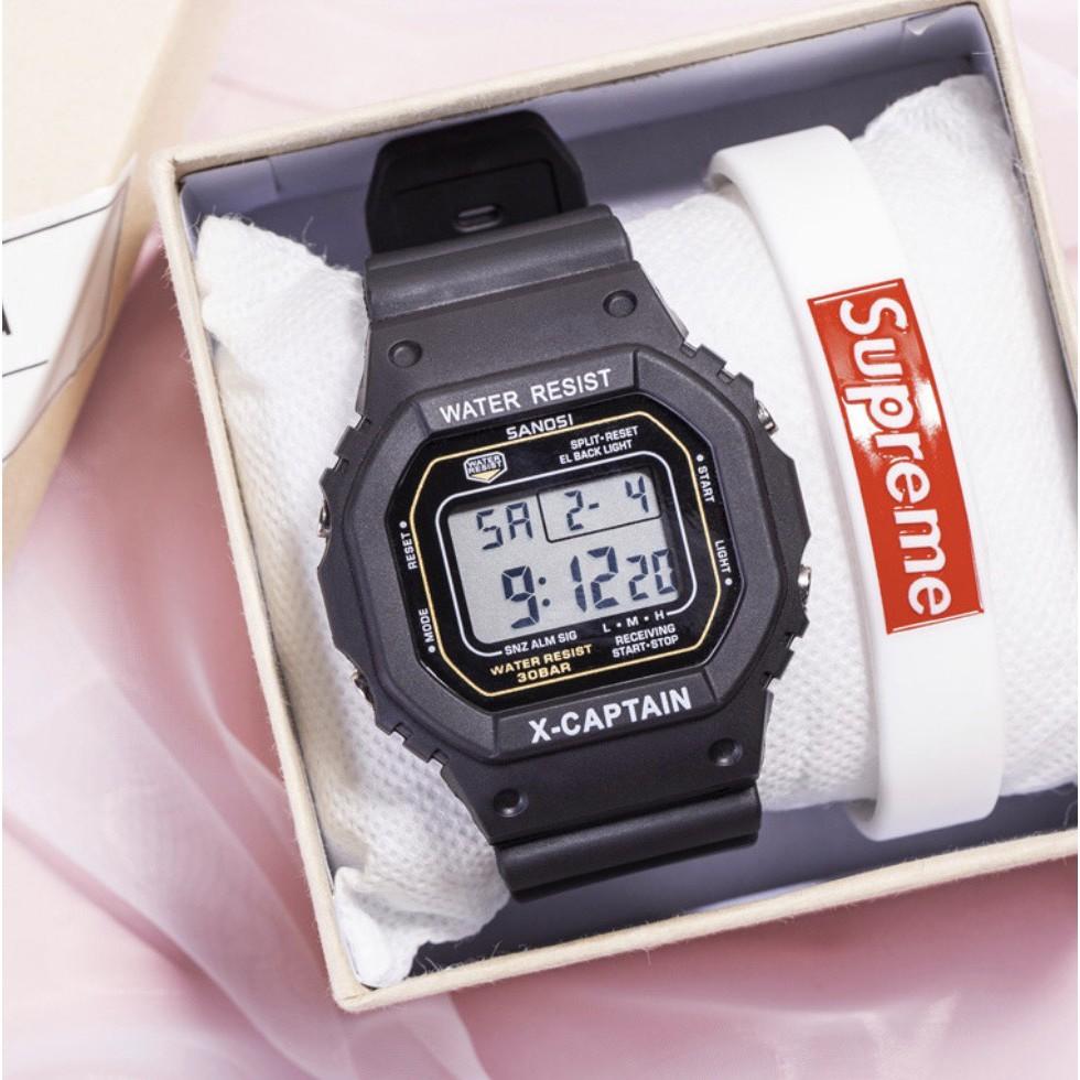 Đồng hồ điện tử nam nữ Sport Watch kiểu dáng thể thao trẻ trung năng động