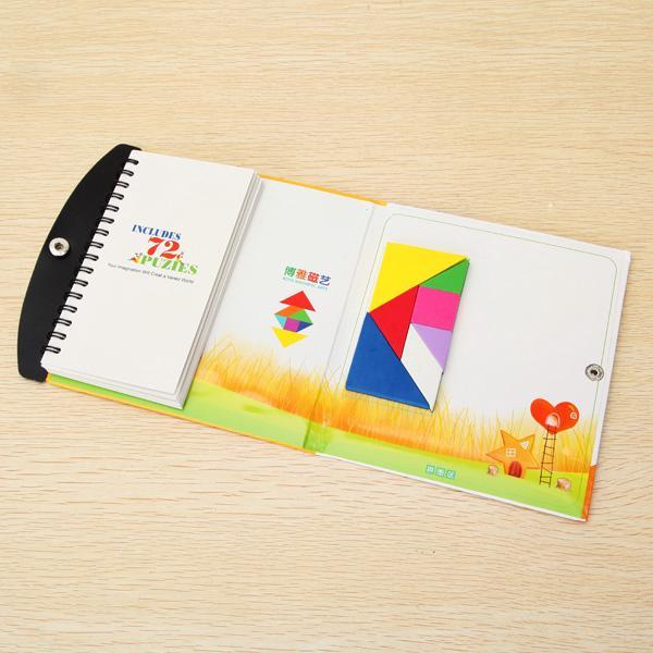 Boya Magnetic Tangram Educational Puzzle Toy