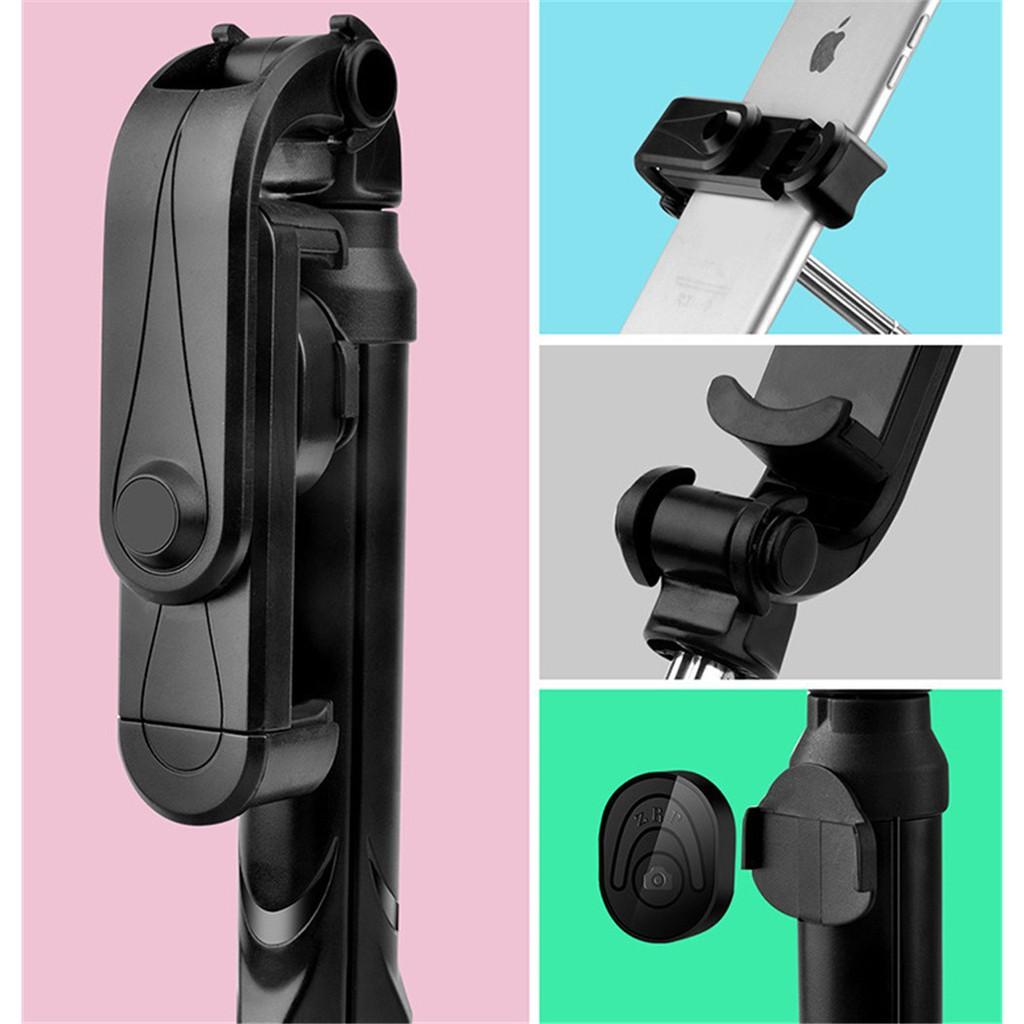 Gậy tự sướng có chân đế kết nối bluetooth dành cho điện thoại