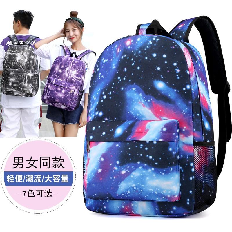 YG-RS1879 School Bags Travel Bags Trendy Backpack Bag Casual Bag  Ready Stock