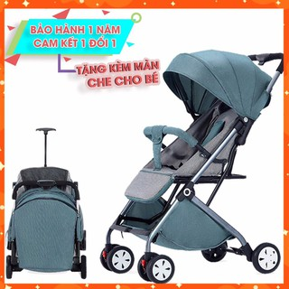 ✟✈️[Freeship] Xe đẩy cho bé, Xe đẩy gấp gọn em bé bé, siêu nhẹ, an toàn và tiện lợi