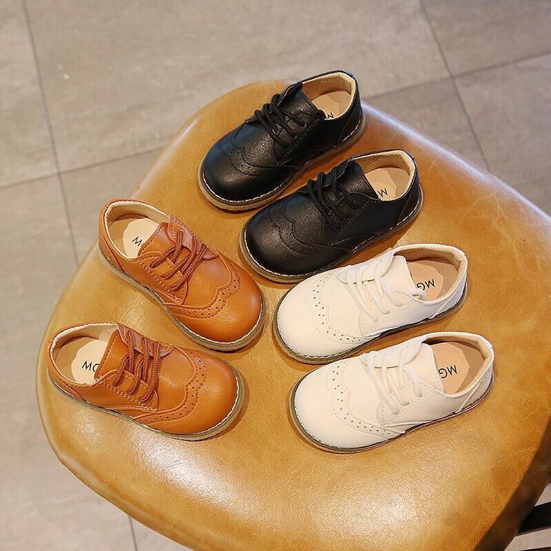 giày Tây cho bé trai hàng Quảng Châu v182
