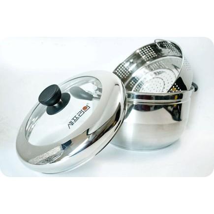 Nồi hấp đa năng Steam Cooker Hàn Quốc, Nồi hấp xôi + luộc gà Steam Cooker