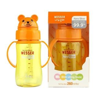 Bình uống nước Wesser 260 ml
