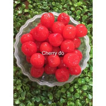 Mứt Cherry Vàng / Đỏ ( Trái Lý ) 250G