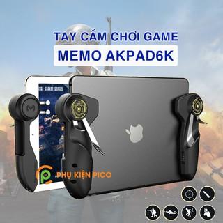 Tay cầm chơi game 6 ngón dành cho IPAD, Máy tính bảng chính hãng Memo Akpad6K - Phụ kiện chơi Game Mobile