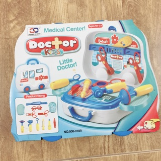 Bộ đồ chơi bác sĩ cho bé-14 món