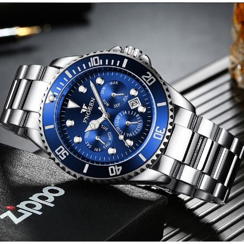 Đồng hồ Quartz FNGEEN 8080 thời trang sang trọng cho nam